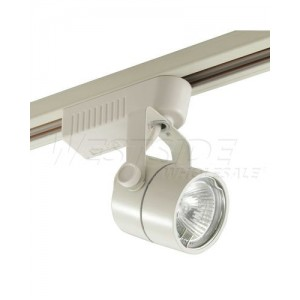 elco lighting et528w track lighting low voltage electronic cylinder track fixture white