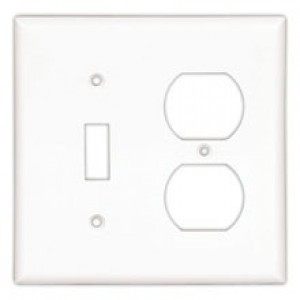 Cooper Wiring 2157A-BOX Decora-Style Wall Plate, (1