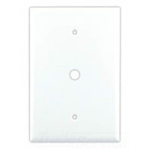Cooper Wiring 2028W-BOX Decora-Style Wall Plate, (1) 0.37