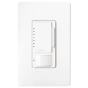 Lutron MSCL-VP153MH-WH LED Dimmer, 1-Pole/3-Way/Multi