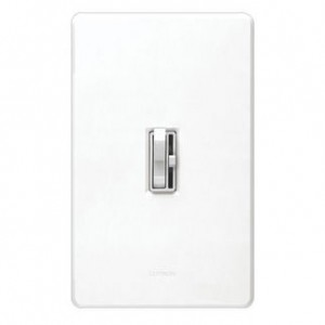Lutron AYCL-153P-WH Dimmer Switch, 600W 3-Way Ariadni