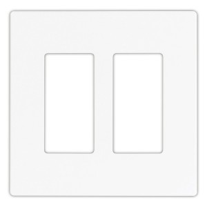 Cooper Wiring PJS262W Wall Plate, Decorator Mid-Sized
