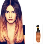 straight indian remy human ombre