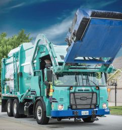 2017 autocar acx64 resi front load garbage truck select your body dual drive  [ 3600 x 2400 Pixel ]