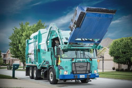 small resolution of 2017 autocar acx64 resi front load garbage truck select your body dual drive