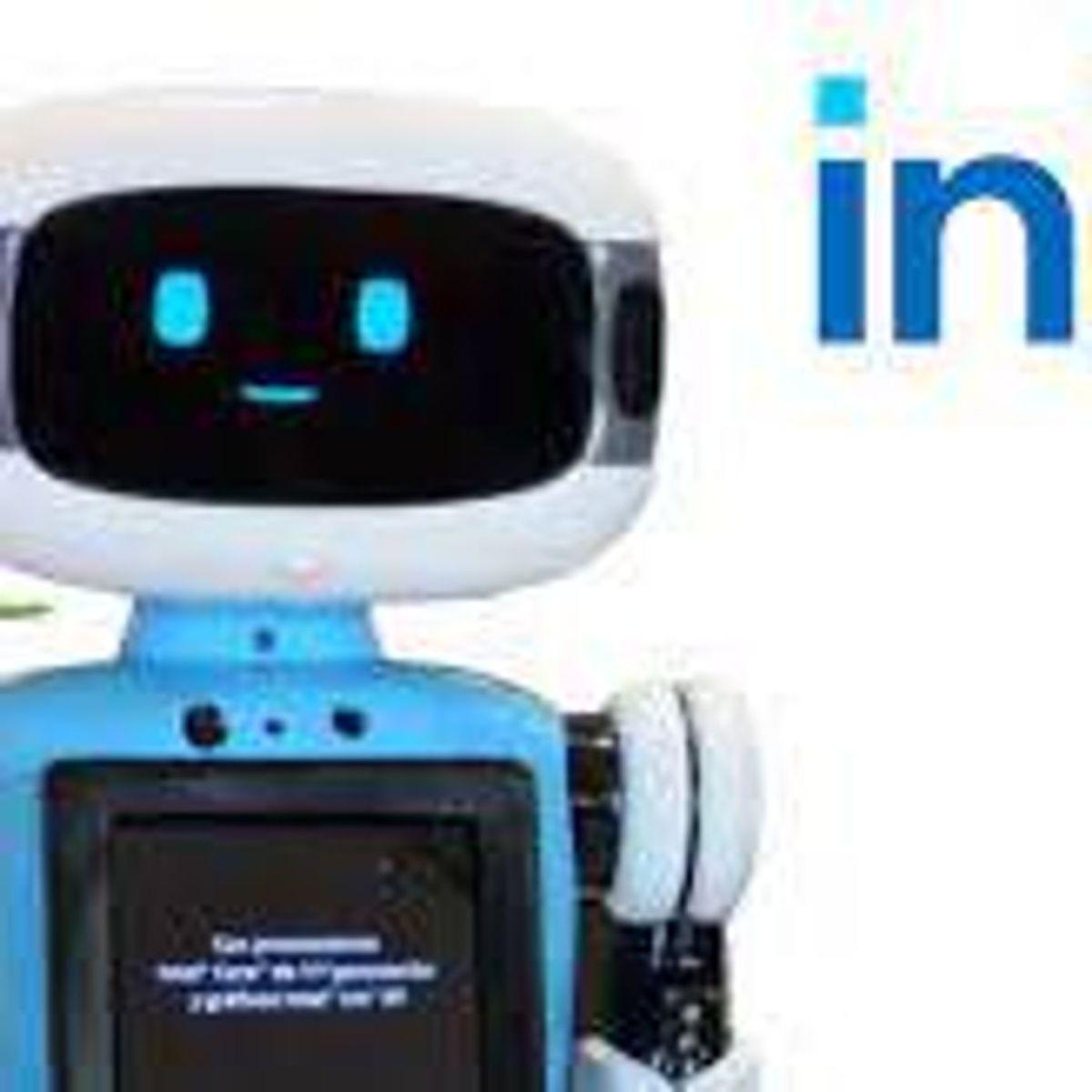El robot mexicano que vende computadoras en el palacio