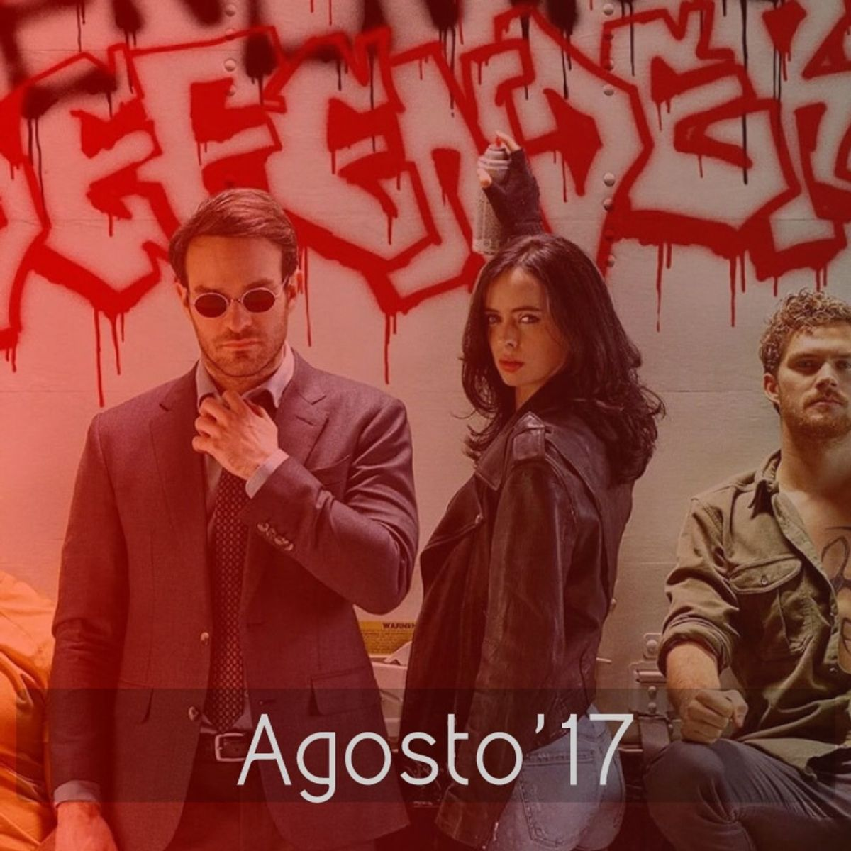Netflixvision#Agosto'17: The Defenders, Atypical, Vikings, Death Note