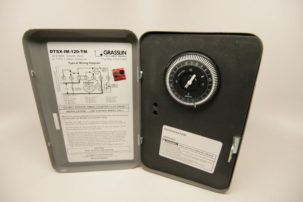 medium resolution of  true manufacturing defrost timer 831993 on defrost timer switch defrost timer sensor electrical timer t 23f defrost timer wiring diagram