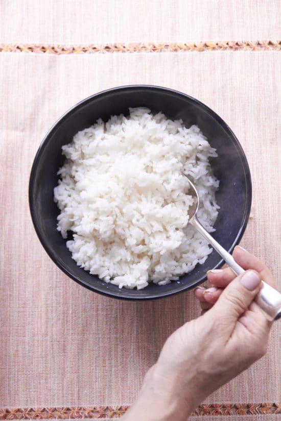 cooking rice in microwave basmati