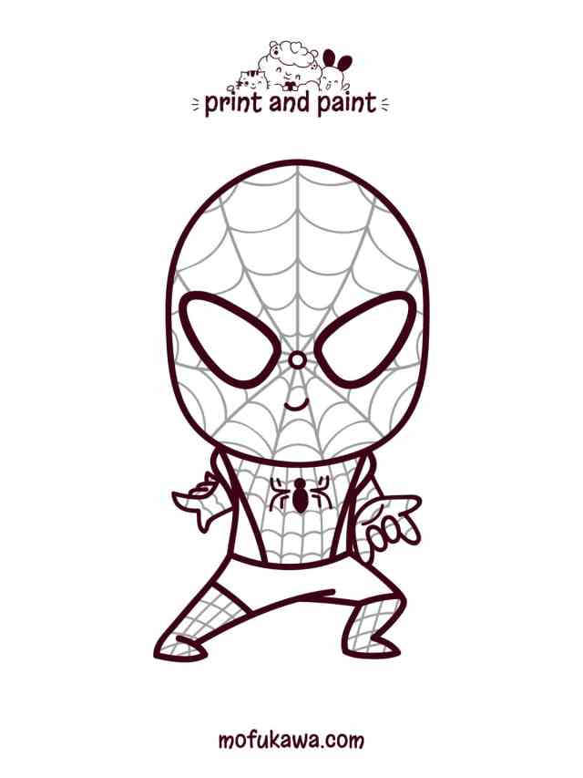 Printable Spiderman Coloring Pages - For Kids And Adults