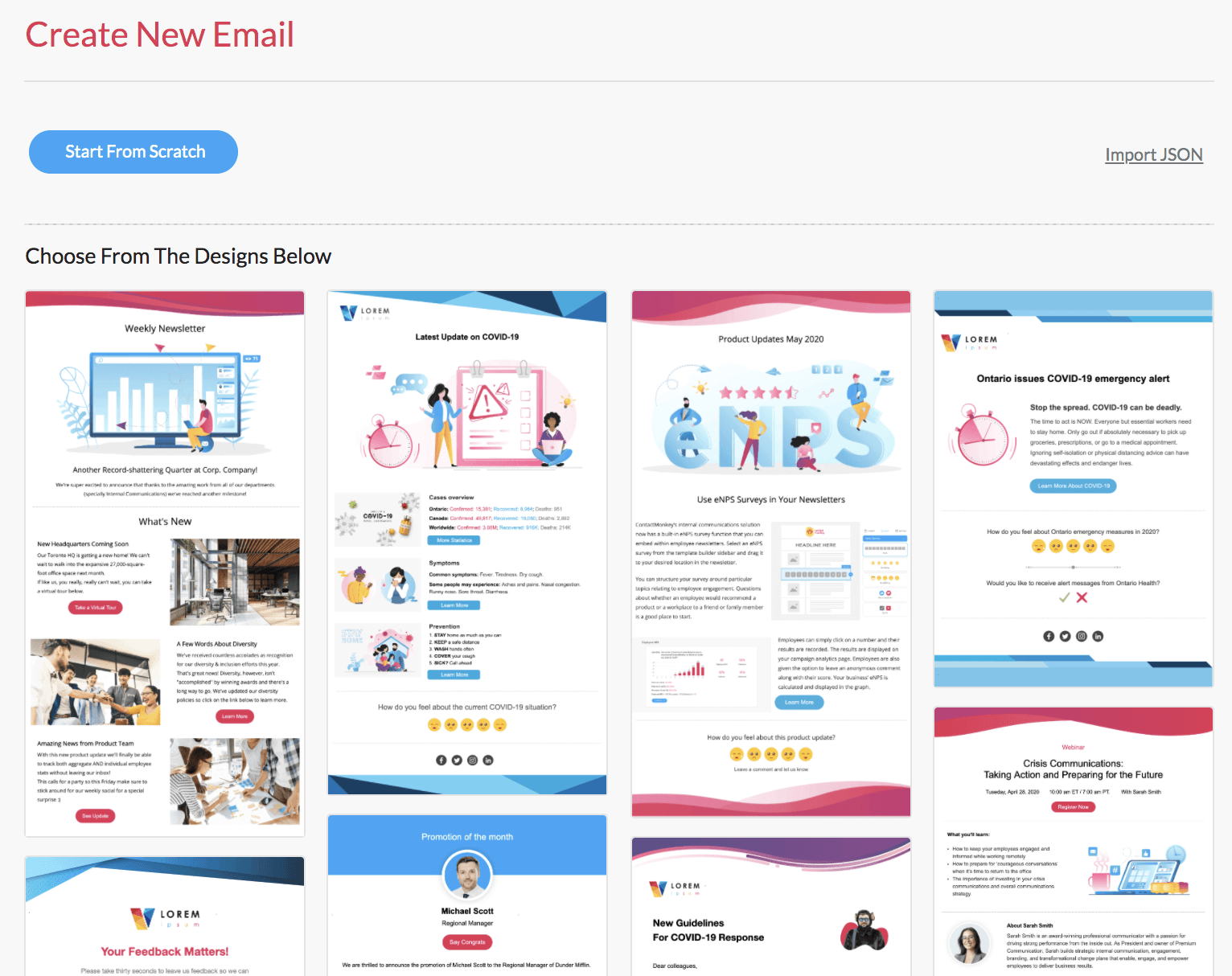 With a template, you do not have to type the body of the email repeatedly when emailing multiple re. 10 Must Have Responsive Email Template Builders