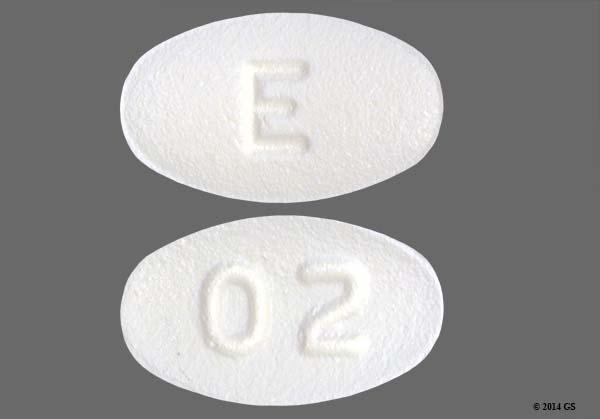 White Oval With Imprint 02 Pill Images - GoodRx