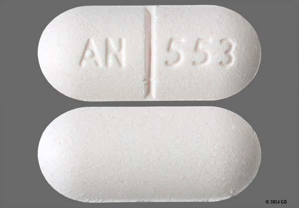 Imprint An 553 Pill Images - GoodRx