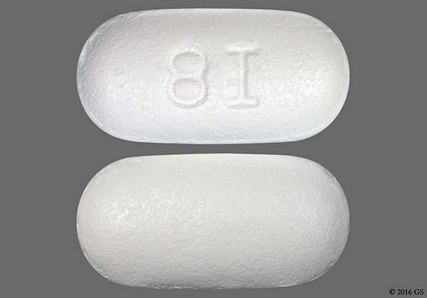 White Oblong With Imprint 8I Pill Images - GoodRx