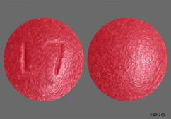 Red Round Tablet L7 - GNP Nasal Decongestant PE 10mg Tablet