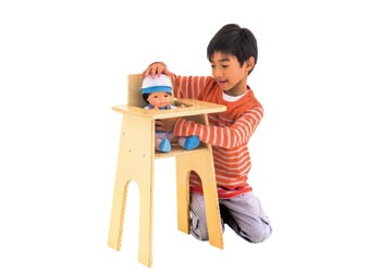 wooden high chair nz baby wood natural doll kesco catalogue