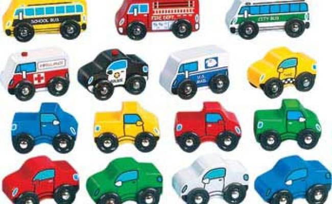Lakeshore Wooden Community Cars Set Of 15 Cars Mta