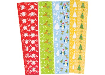 christmas paper chains w