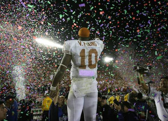 Black History Month at Texas: Vince Young | Hookem.com