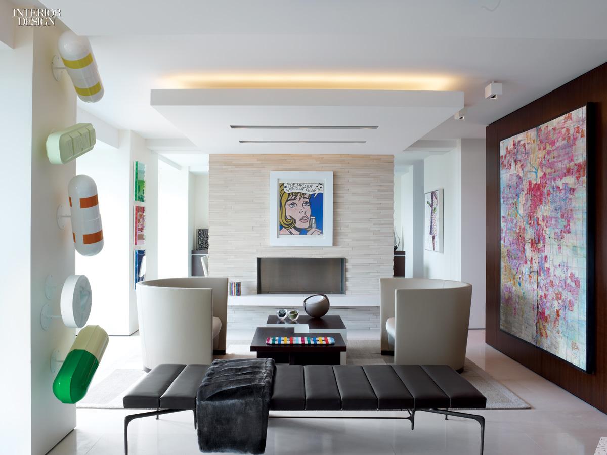best sofa companies barbie set games museum in the sky: sprawling midtown apartment by hariri ...