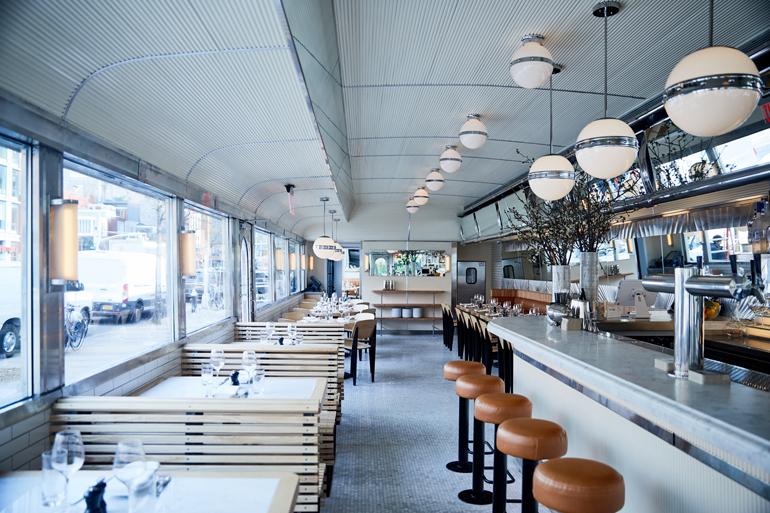 Empire Diners Upscale Renovation by Nemaworkshop