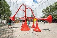 Yuri Suzukis Playful Sonic Sculptures Grace Atlantas ...