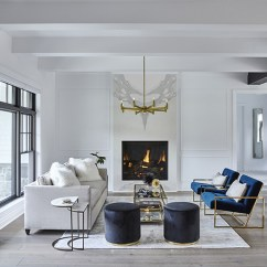 Interior Designing Photos Living Room Rooms With Fireplaces Images Design Projects In The A Crate Barrel Sofa And Armchairs By Safavieh Gather Around West Elm Table Beneath Chandelier Homescapes