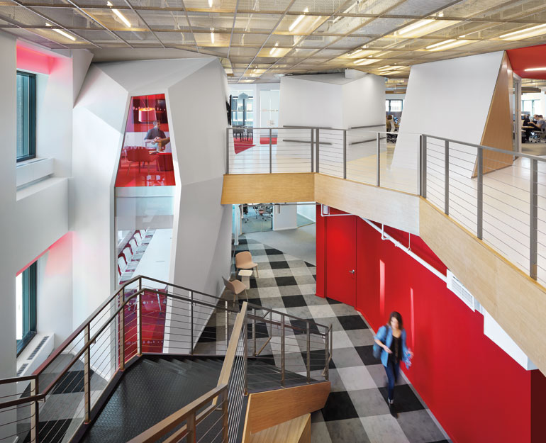 The New Publicis Office in New York by Clive Wilkinson Has