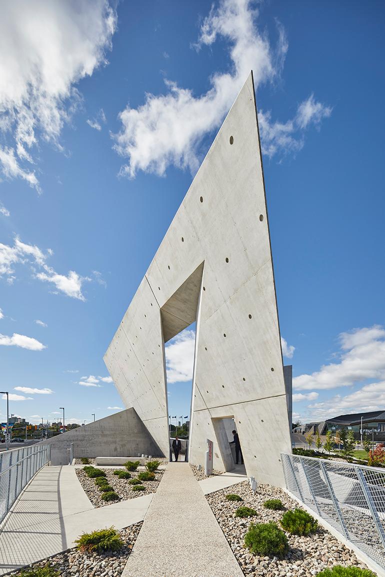 Studio Libeskinds National Holocaust Monument Opens in Ottawa