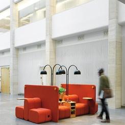 Blå Station's New Bob Job Office Sofa Offers Flexibility and Comfort