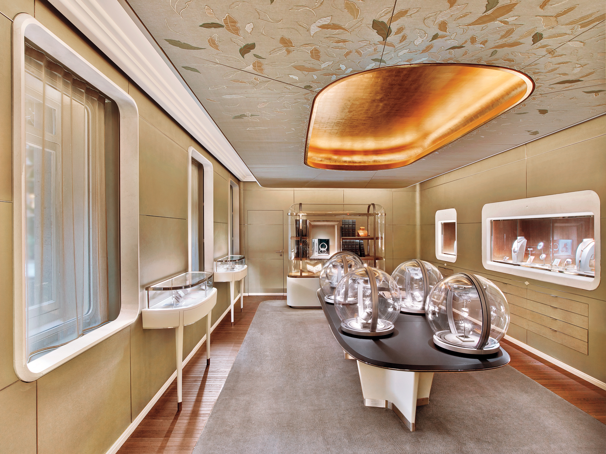 Van Cleef  Arpels by Jouin Manku 2016 Best of Year Winner for Jewelry Retail