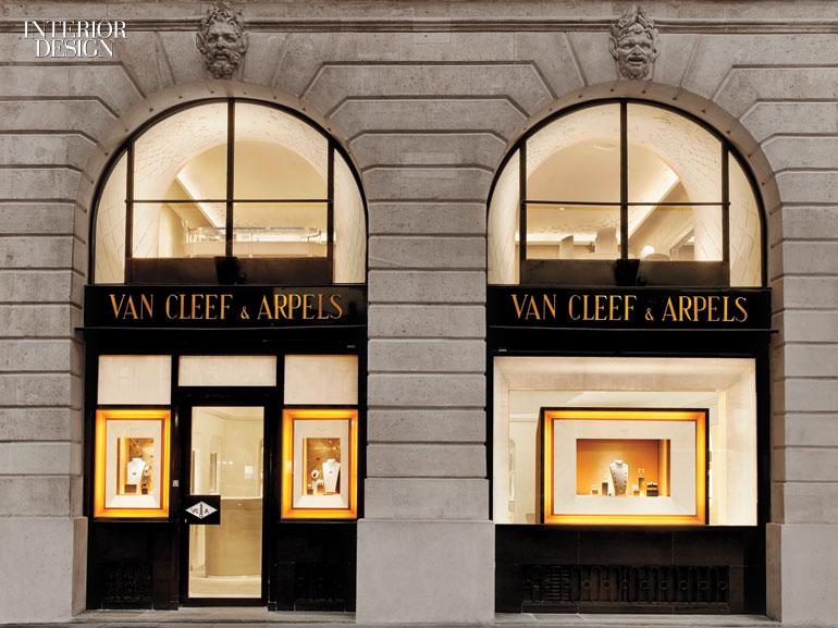 Place Vendome Inspires the Grandeur of Van Cleef  Arpelss Newest Paris Boutique