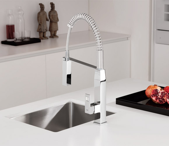 professional kitchen faucet appliances on sale grohe faucets combine functionality ...