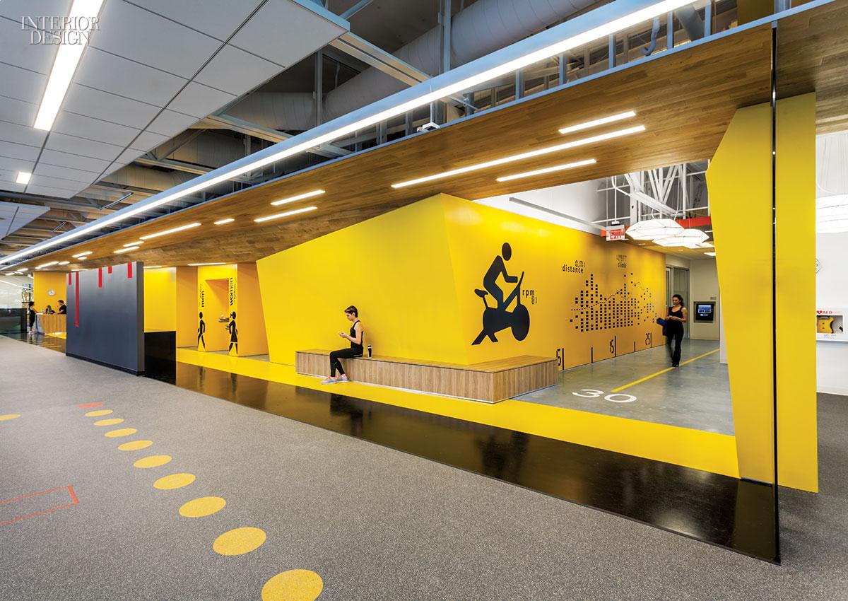Gensler San Joses Fitness Center For Symantec
