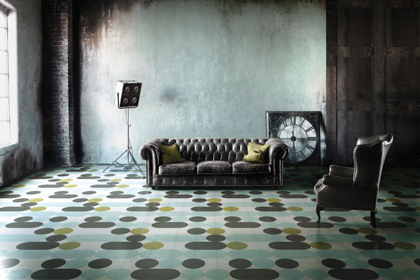 bisazza goes pop with new cement tile