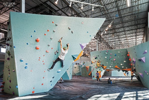 Austin Bouldering Project Brings Friendly Industrial Climbing Gym Texas