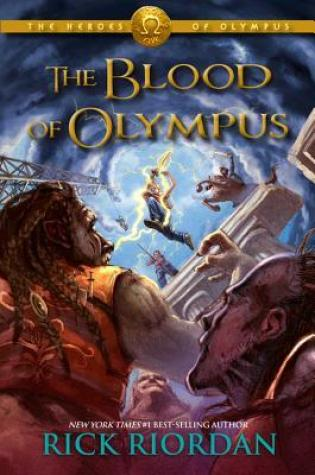 REVIEW + DISCUSSION: the blood of olympus; rick riordan
