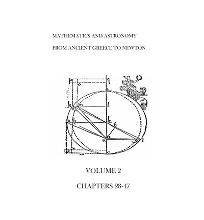 Mathematics and Astronomy from Ancient Greece to Newton