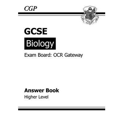 GCSE Biology OCR Gateway Answers (for Workbook) (A*-G