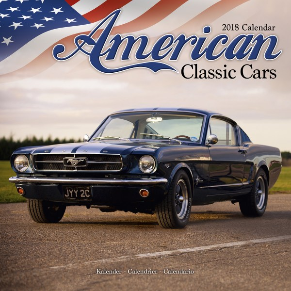 American Classic Cars Calendar 2018 Pet Prints