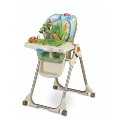 Fisher Price Rainforest Healthy Care High Chair 2 Wheelchair Hauler Reviews Productreview Com Au