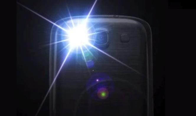 Configura el mvil para que el LED del Flash te avise de