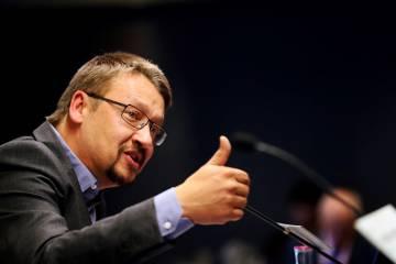 El cabeza de lista de Catalunya en Comú-Podem, Xavier Domènech.