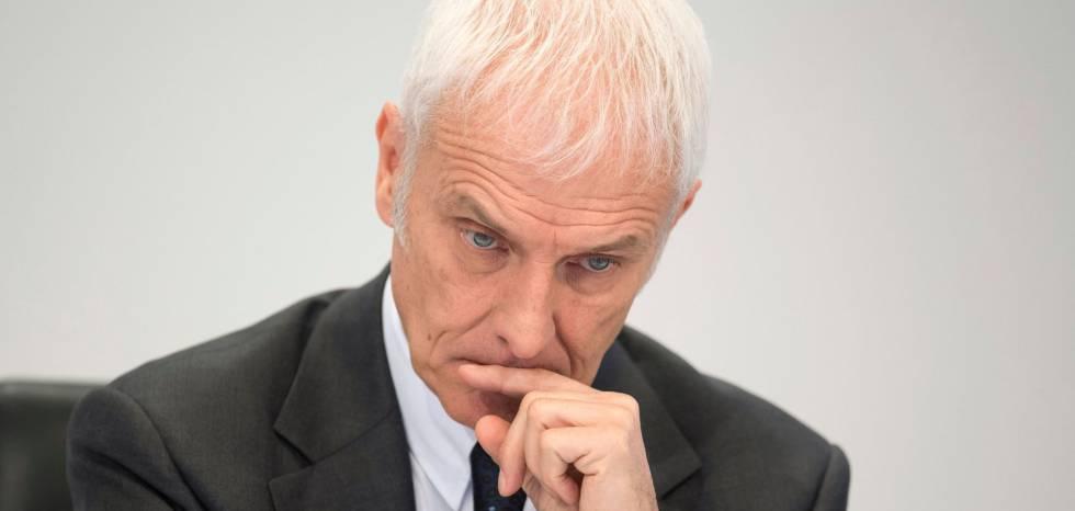 Matthias Mueller,consejero delegado del grupo Volkswagen