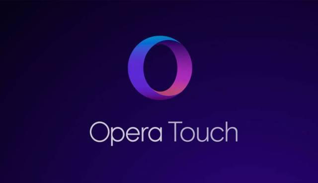 Resultado de imagen de opera touch