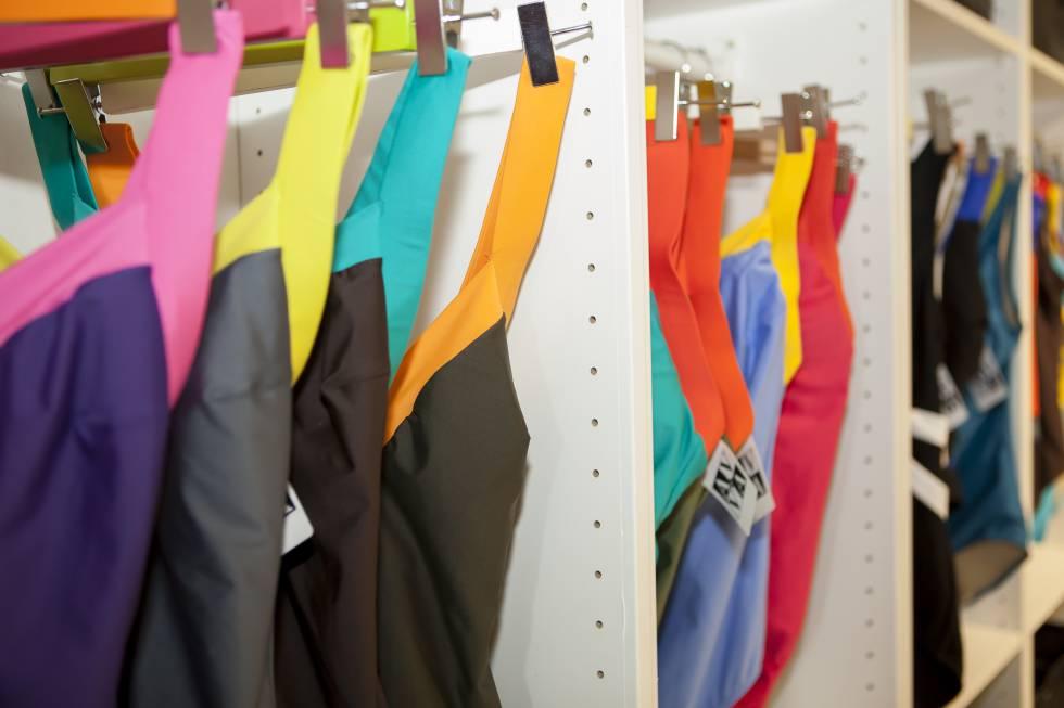 La última colección de A&V está formada por 18 trajes de baño.