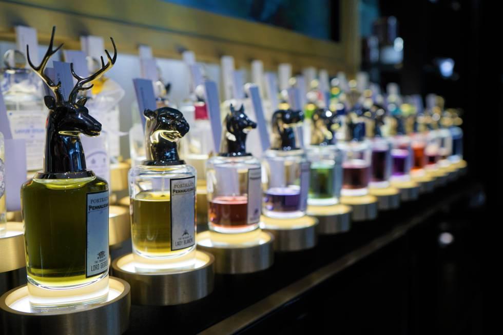 Fragancias de la perfumería Penhaligon's.