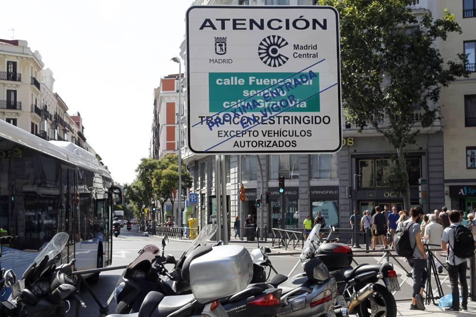 El negocio de 'carsharing', el gran beneficiado de la restricción al tráfico en Madrid