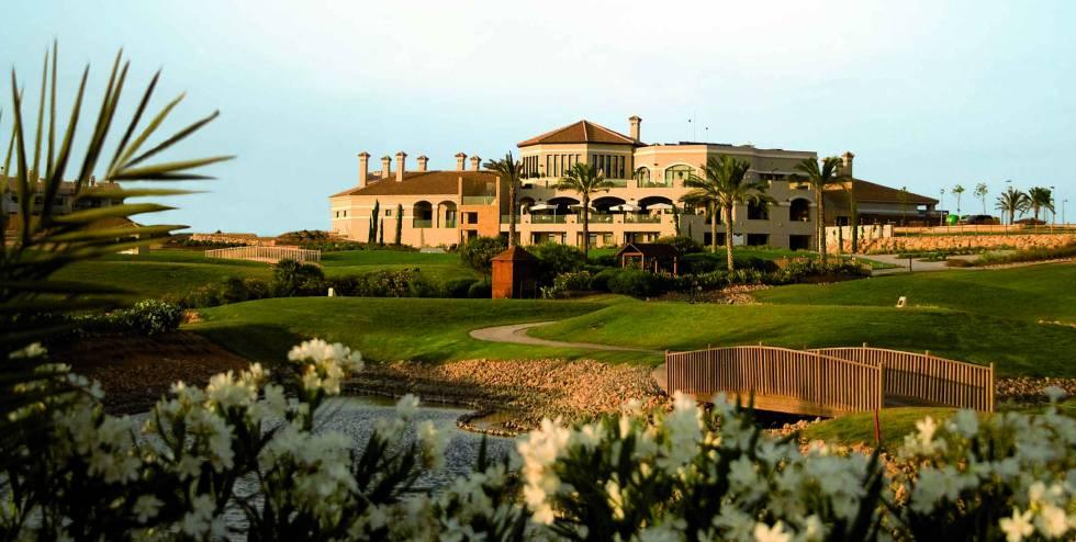 Club house del resort.