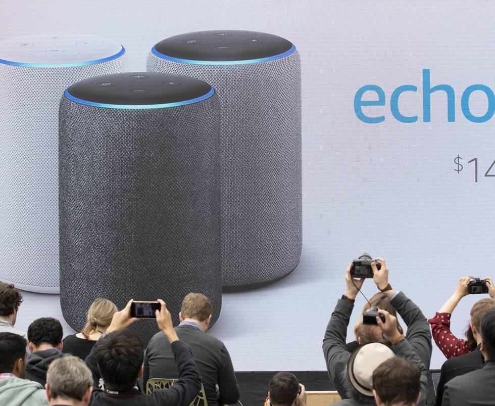 Los altavoces Echo de Amazon llegan a España.